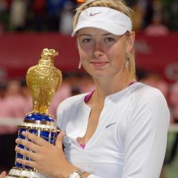 نجم التنس ماريا شارابوفا