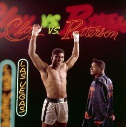 الوزن الثقيل بطل الملاكمة محمد علي (صور 3)