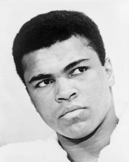الوزن الثقيل بطل الملاكمة محمد علي (صور 10)