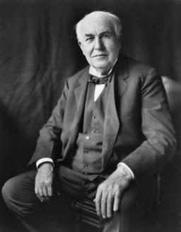 المخترع الأمريكي توماس إديسون (صور 2)