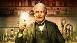 المخترع الأمريكي توماس إديسون صور ، ورق جدران