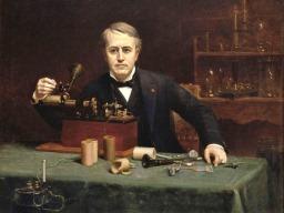 المخترع الأمريكي توماس إديسون (صور 6)