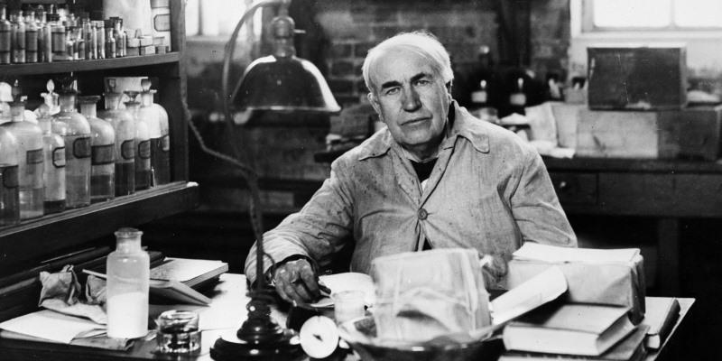 المخترع الأمريكي توماس إديسون (صور 5)