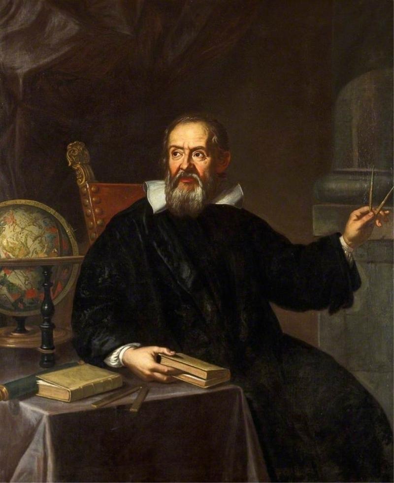 عالم الفيزياء الإيطالي غاليليو (ورق جدران 1)